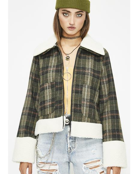 Hood Honey Plaid Jacket