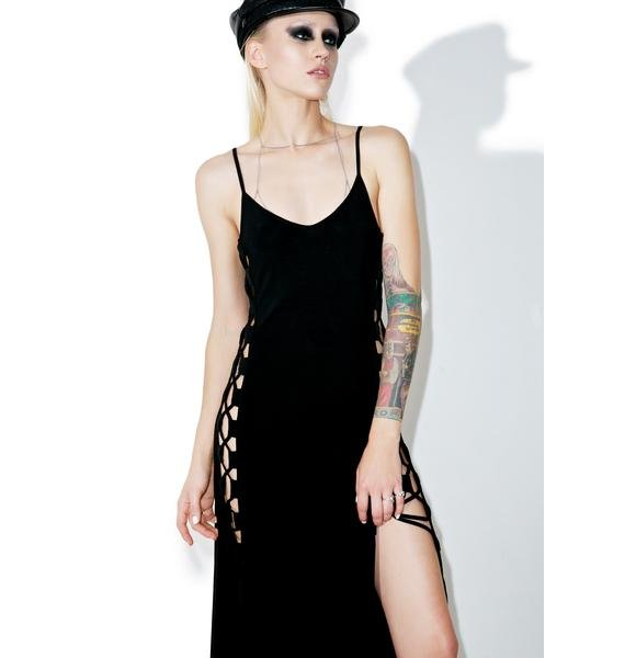 Glamorous Side Eye Maxi Dress