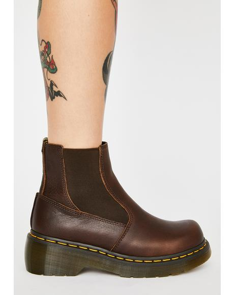 Brown Oates Chelsea Boots