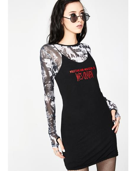 Wes Craven Mini Dress