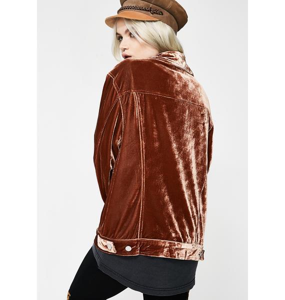 Rocking Steady Velvet Jacket