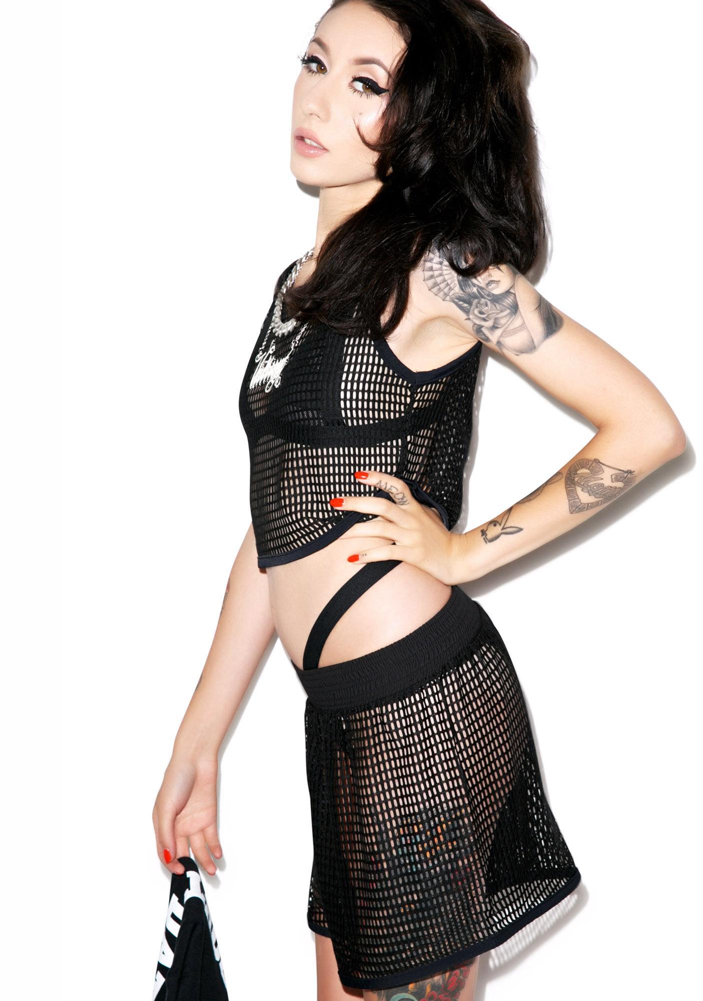 Hot!MeSS Mesh Short