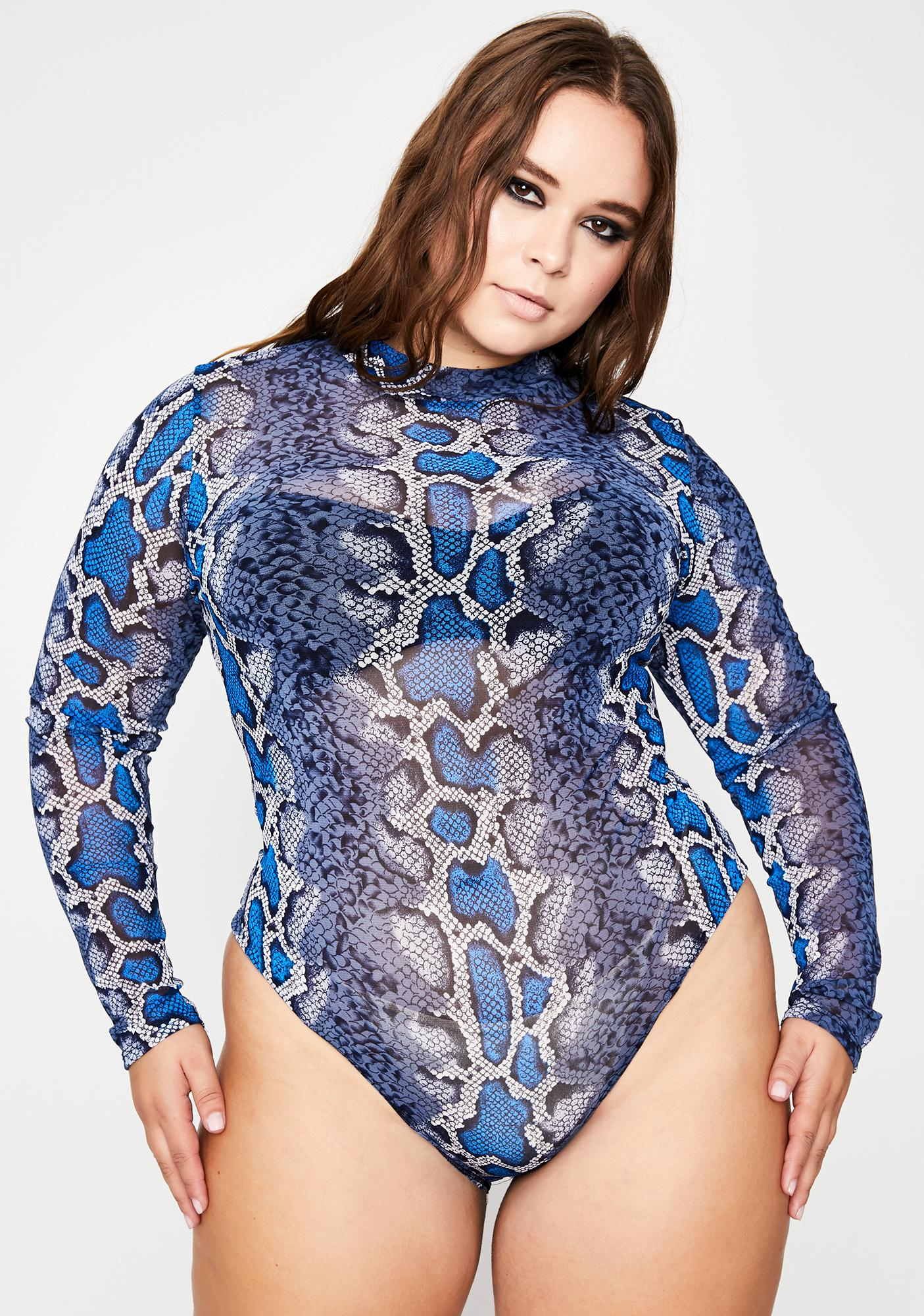 She's Badly Bitten Sheer Bodysuit