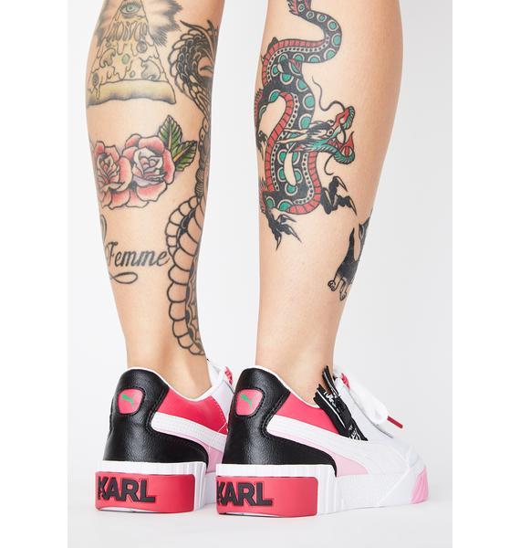 PUMA X Karl Lagerfeld Cali Sneakers