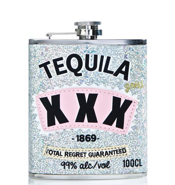 Skinnydip Tequila XXX Flask