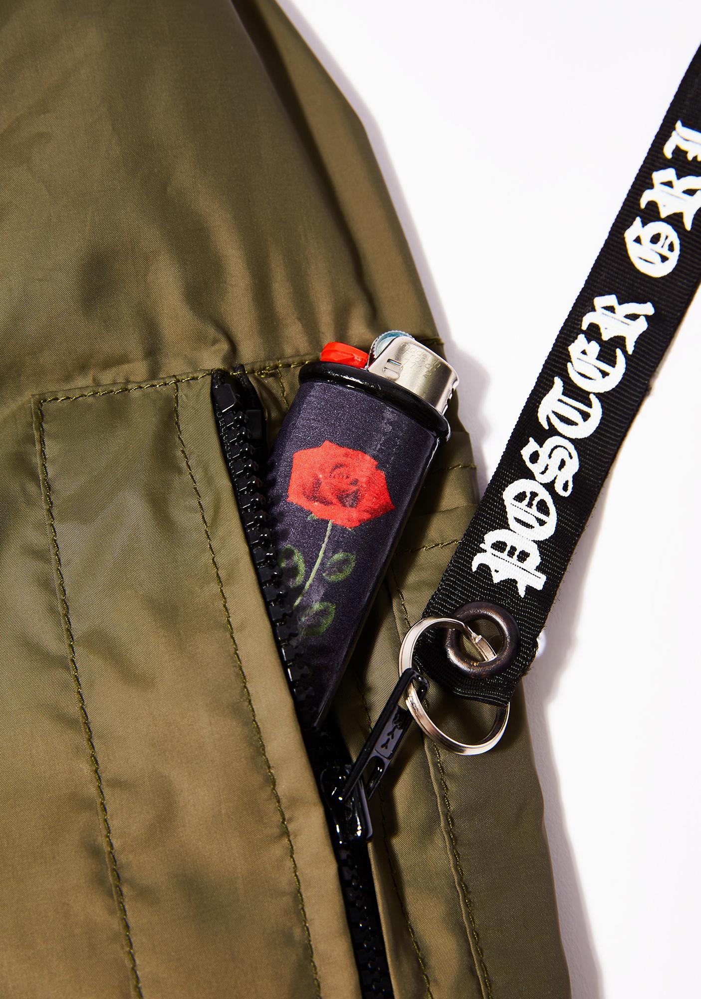My Bubblegum Fantasy Black Rose Lighter Case
