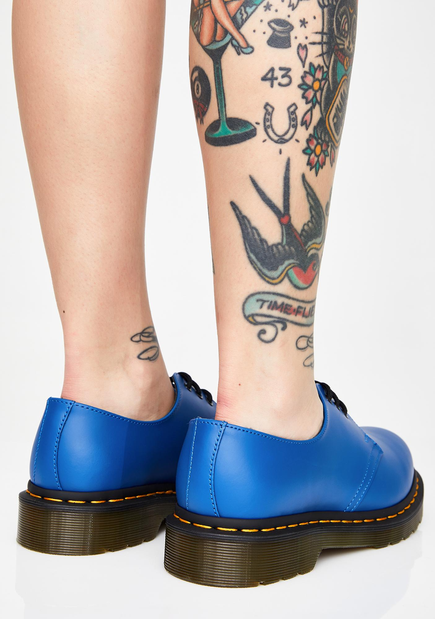 Dr. Martens Cobalt 1461 Smooth Oxfords