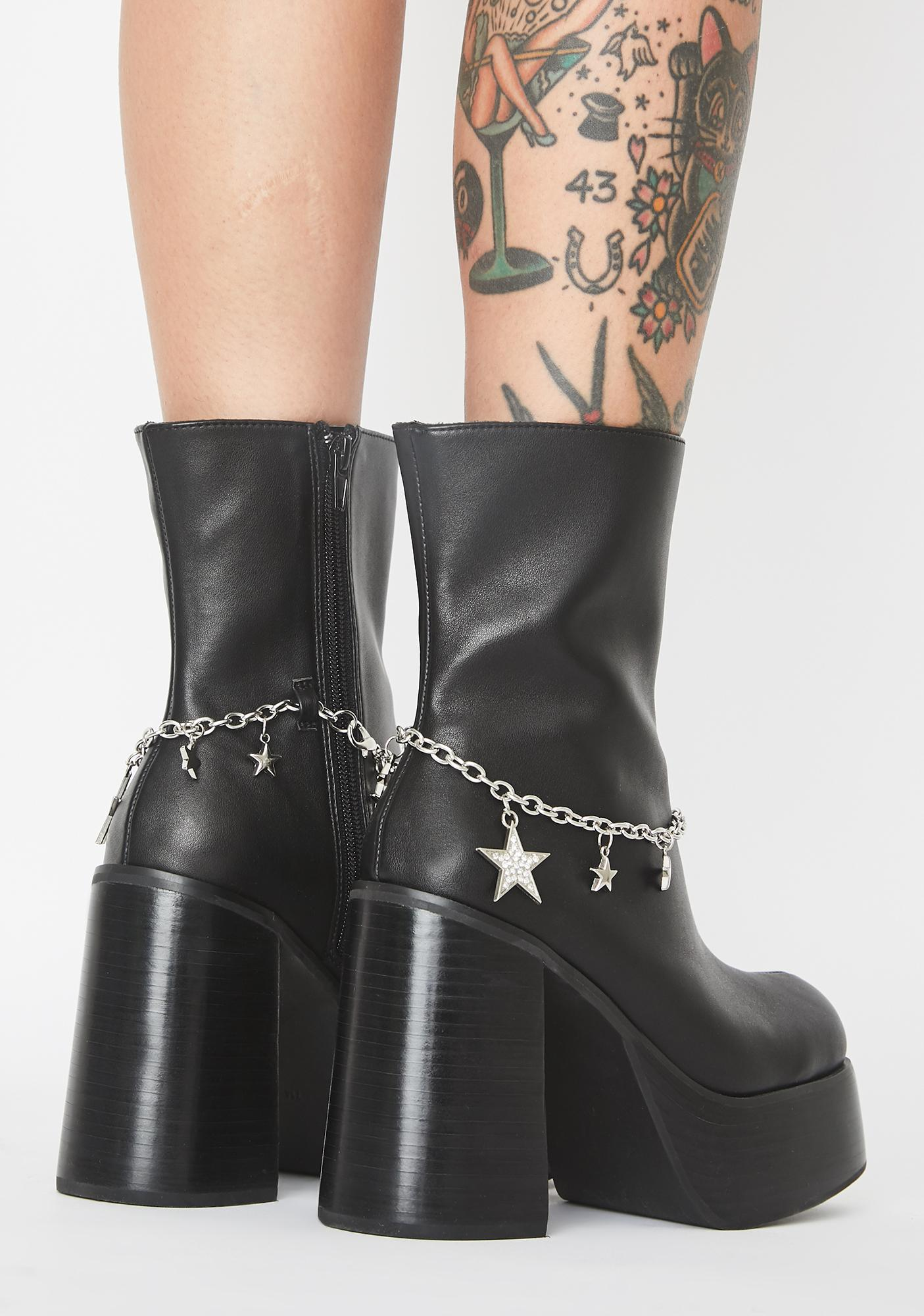 delias platform boots