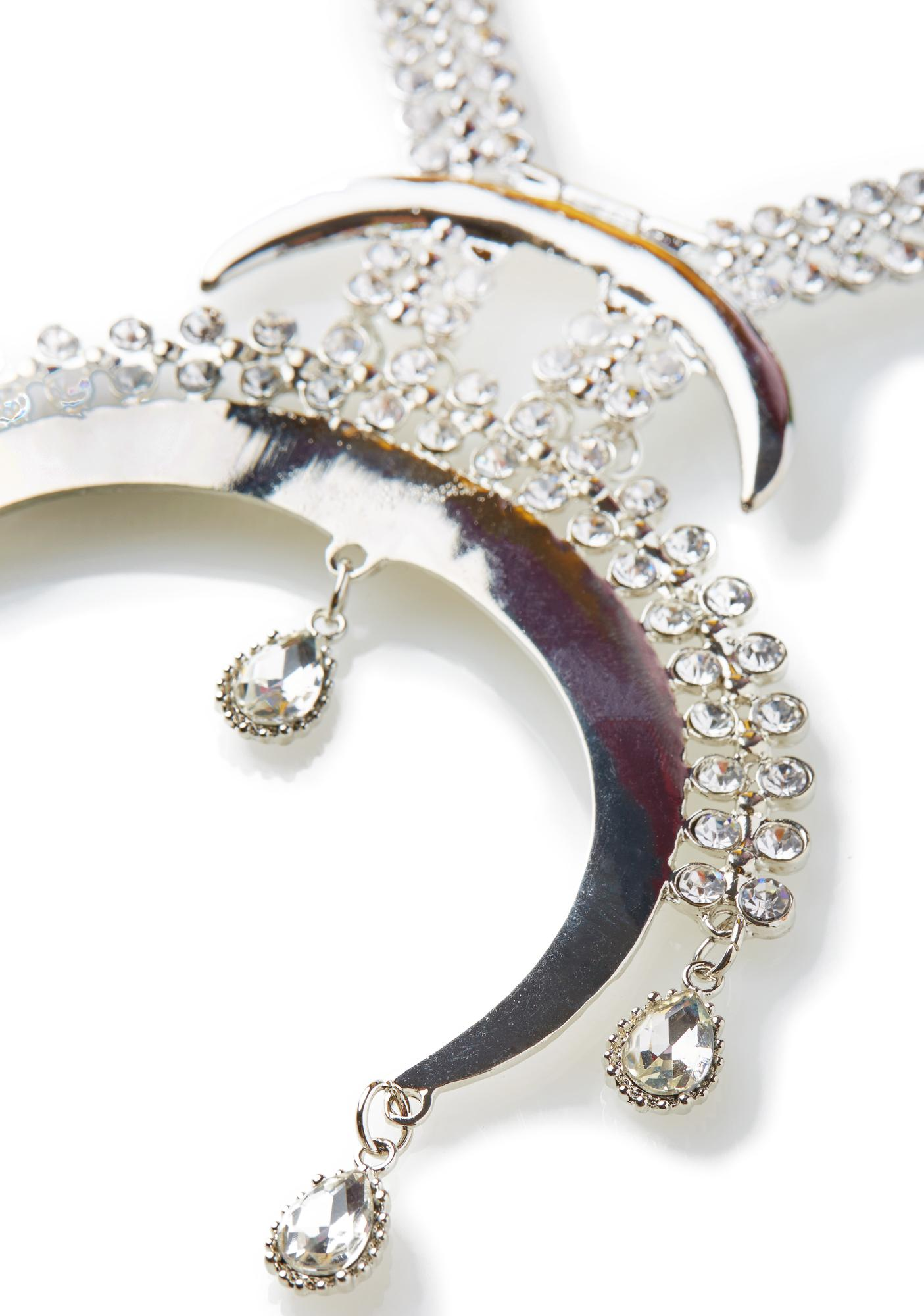 Crescendo Crystal Necklace