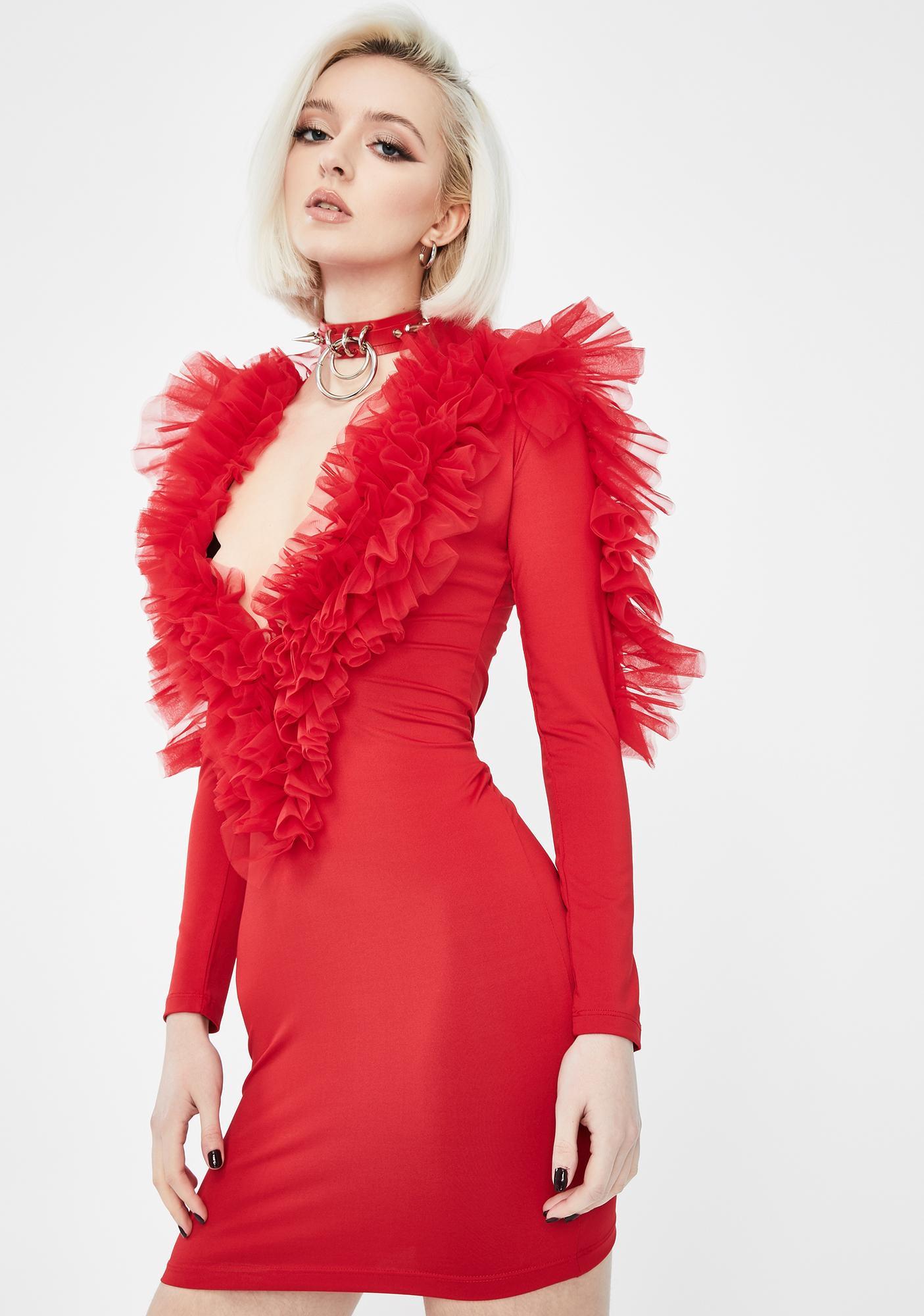 Kiki Riki Spicy Intense Shade Mini Dress