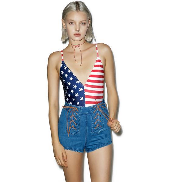 All American Gurl Bodysuit