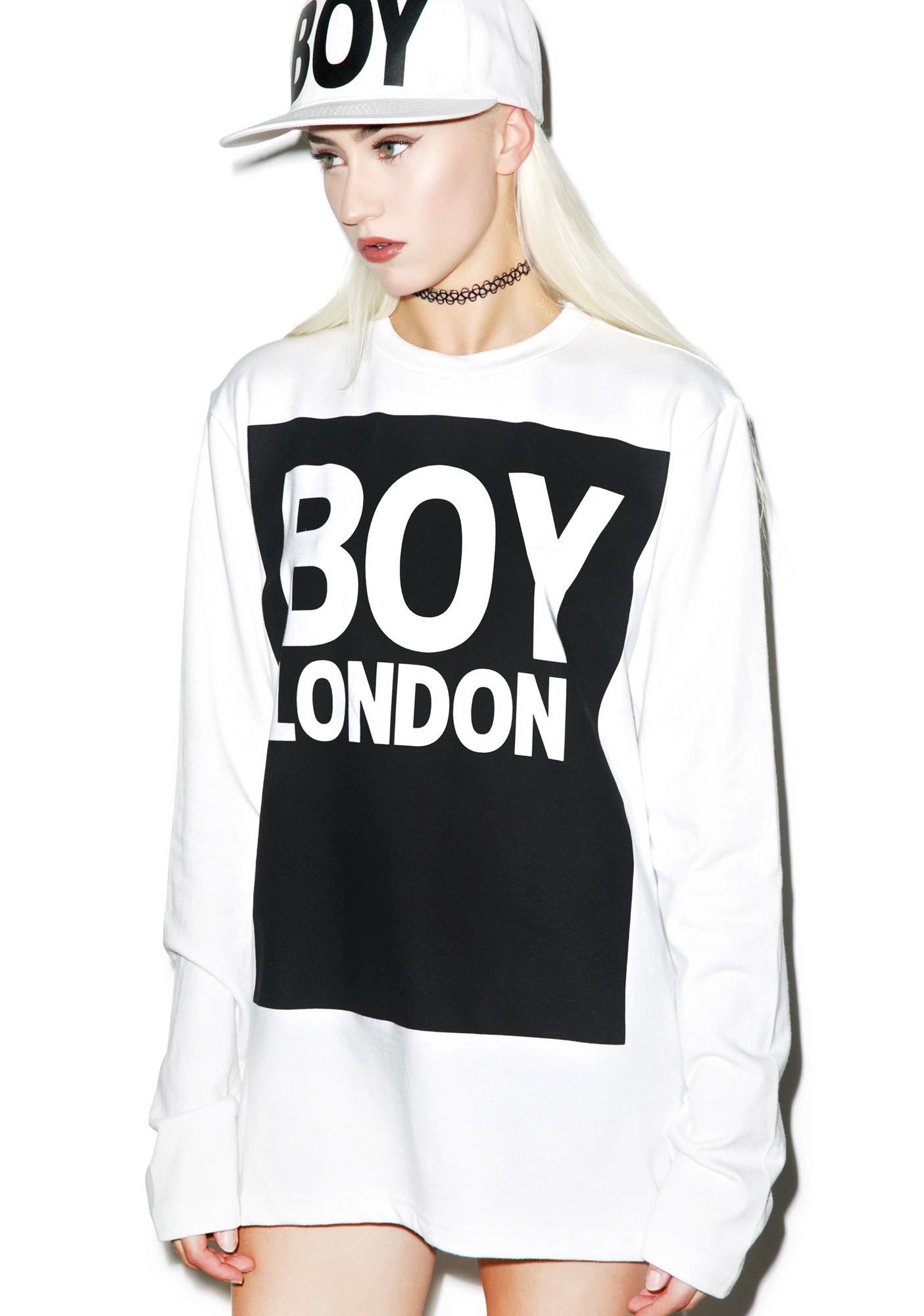 boy london long t shirt