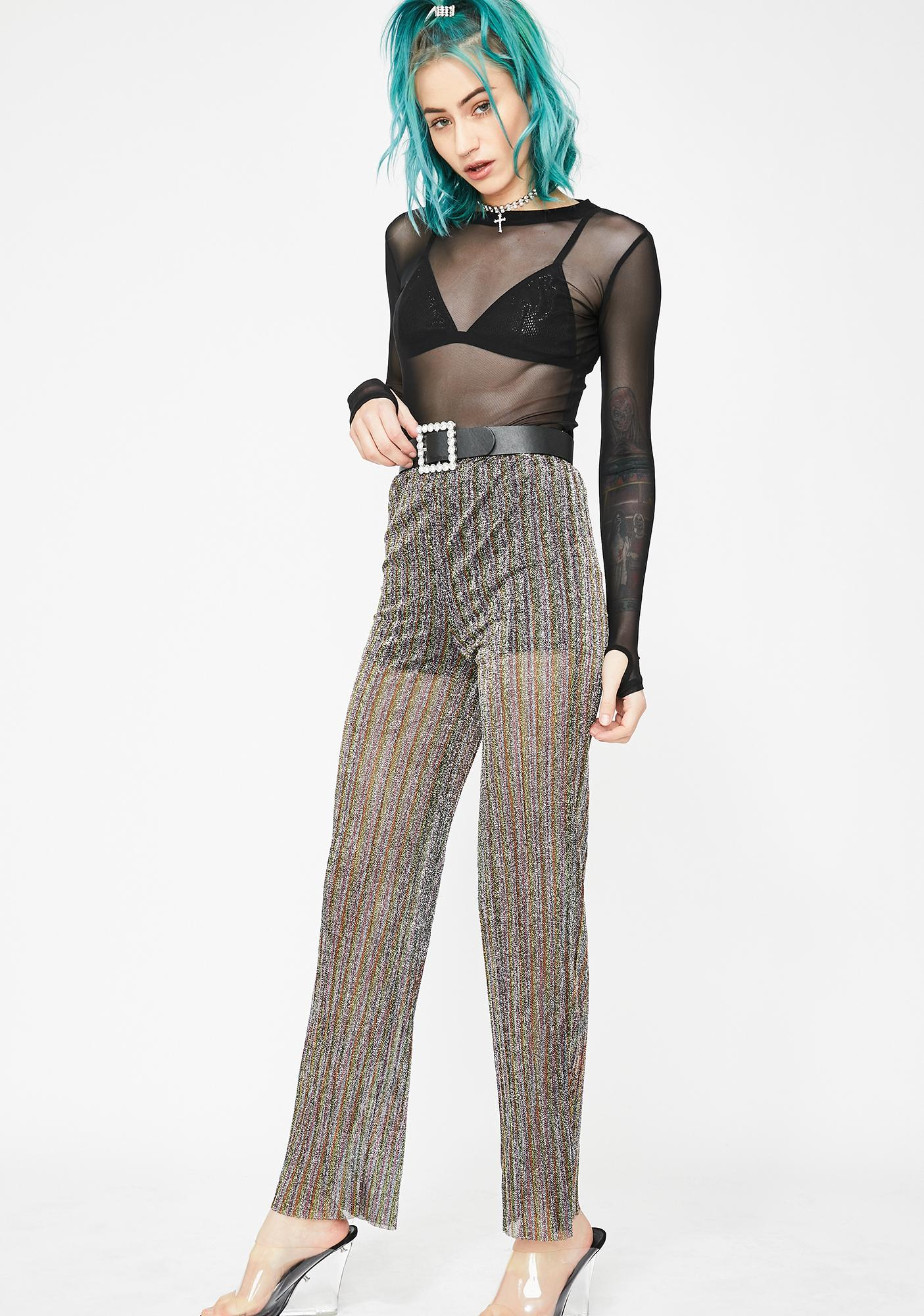 Reign Or Shine Sheer Pants
