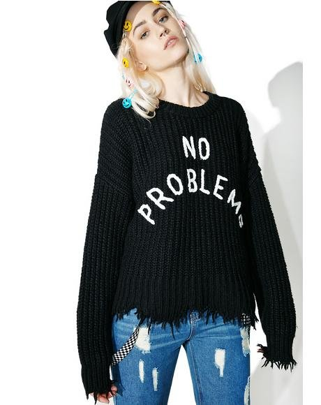 No Problemo Chase Sweater