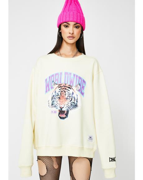 Tiger Style Crewneck Sweatshirt