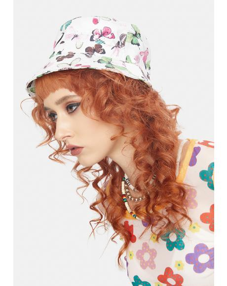 Diversifly Cream Bucket Hat