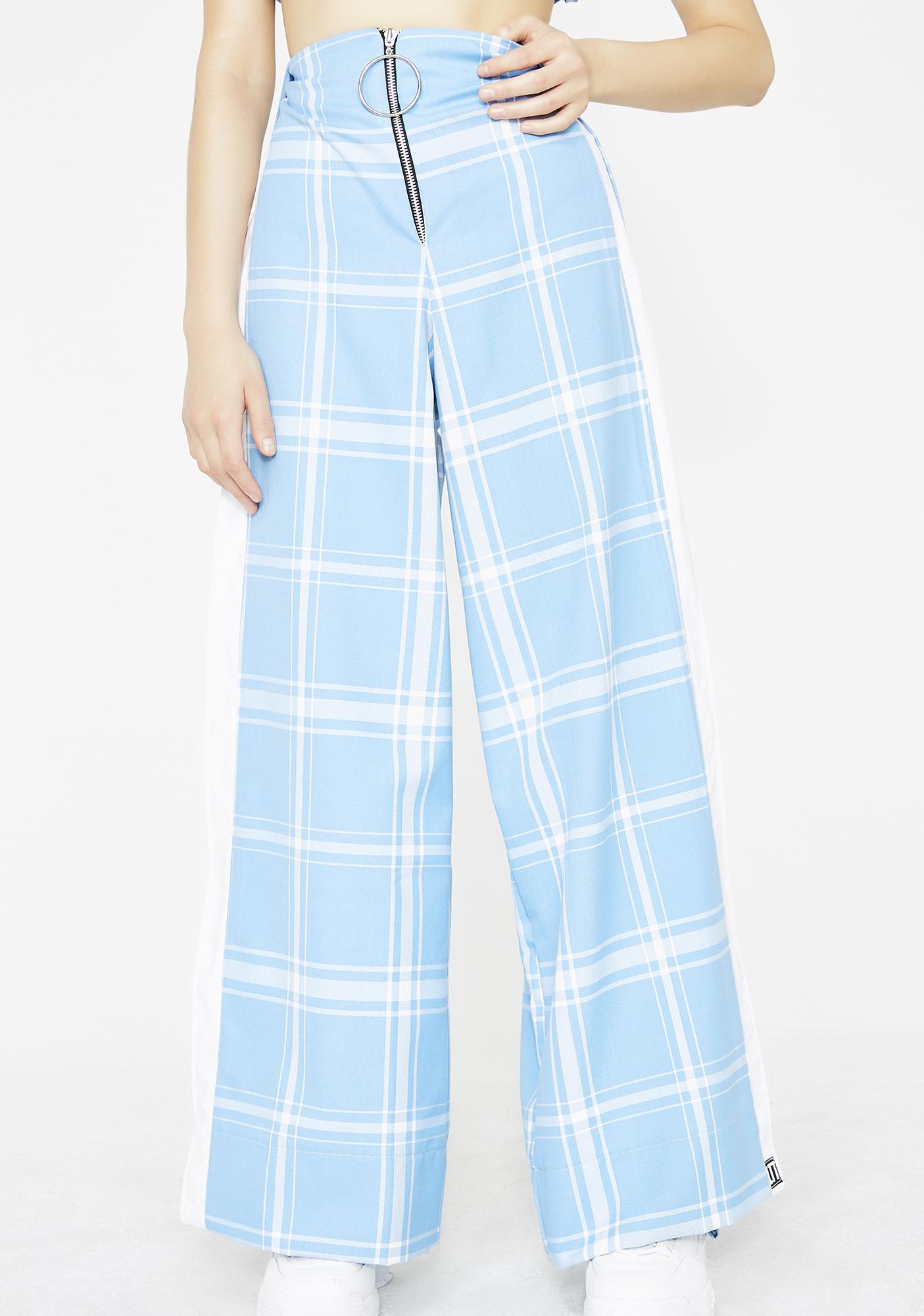 LOVE TOO TRUE Blair Split Trousers