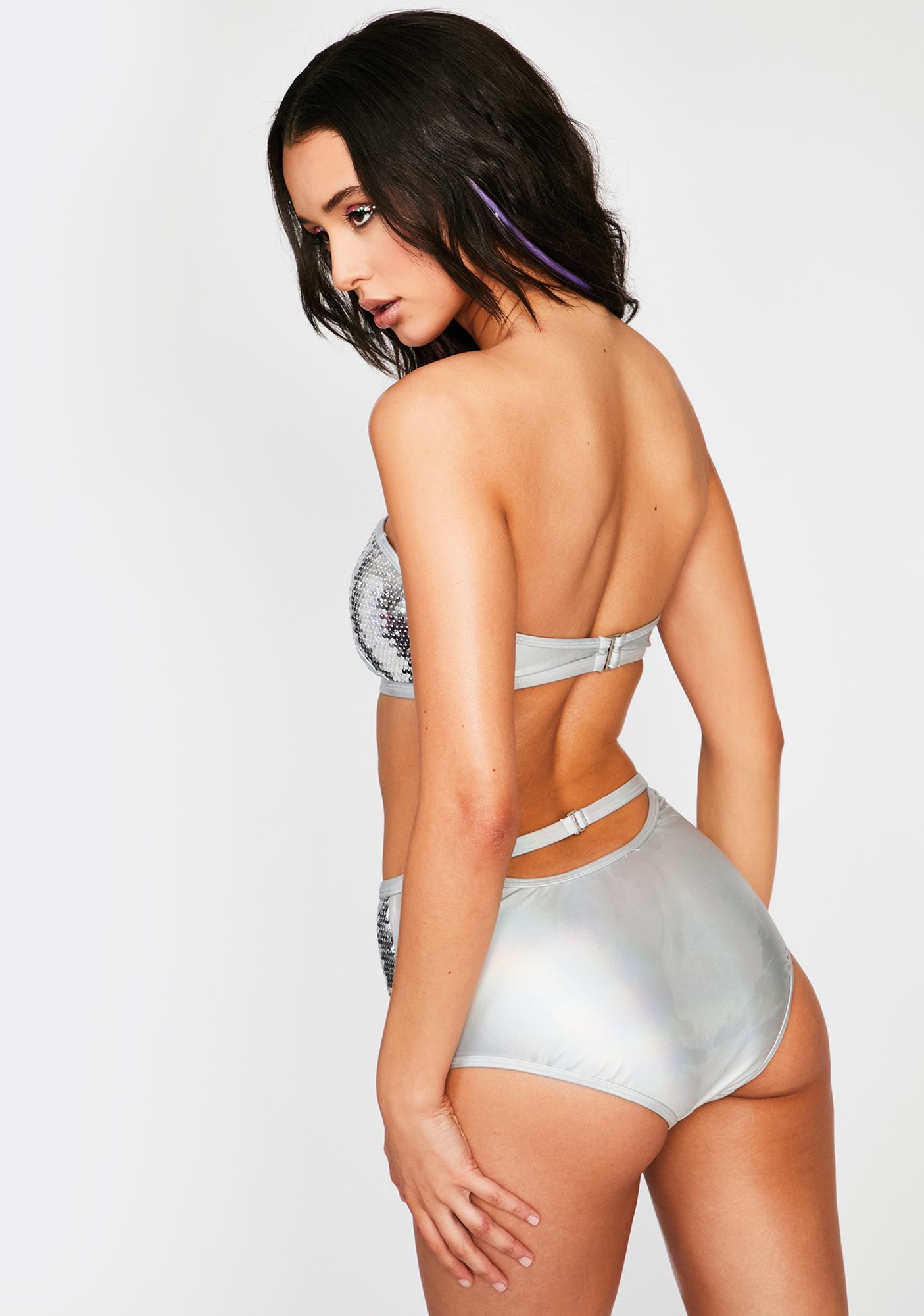 Blind Sensation Sequin Bikini Set