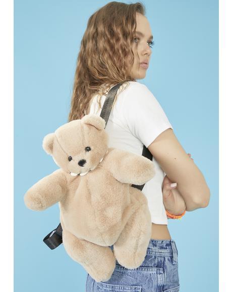 Got Ur Back Teddy Backpack