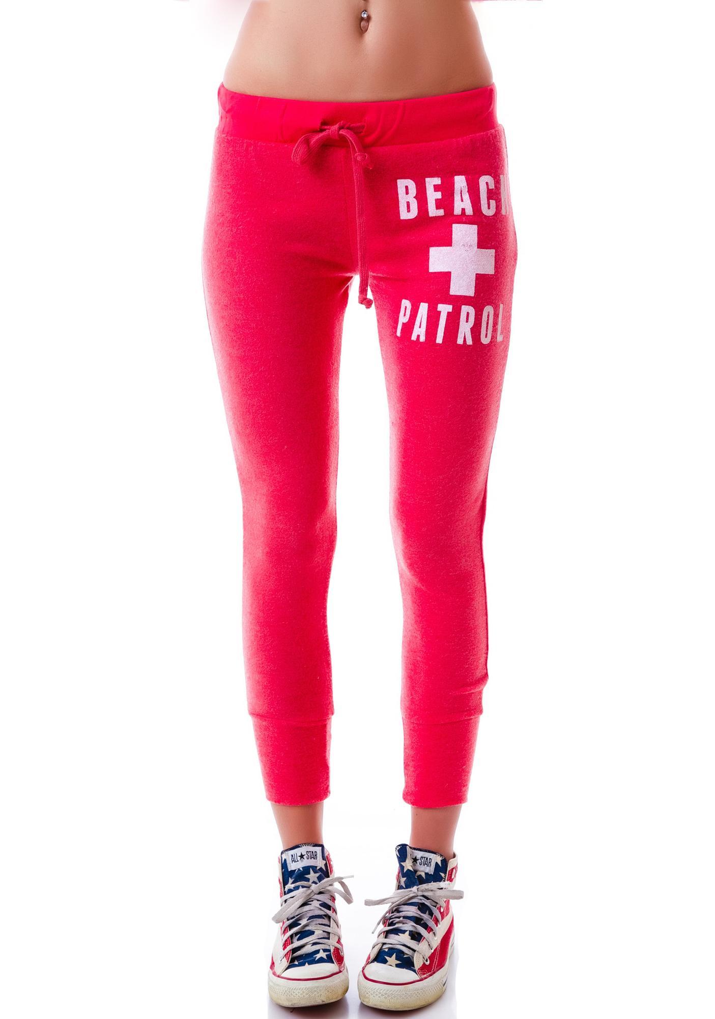 Beach Patrol Drawstring Sweatpants