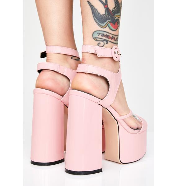 Lamoda Struttin' Platform Heels