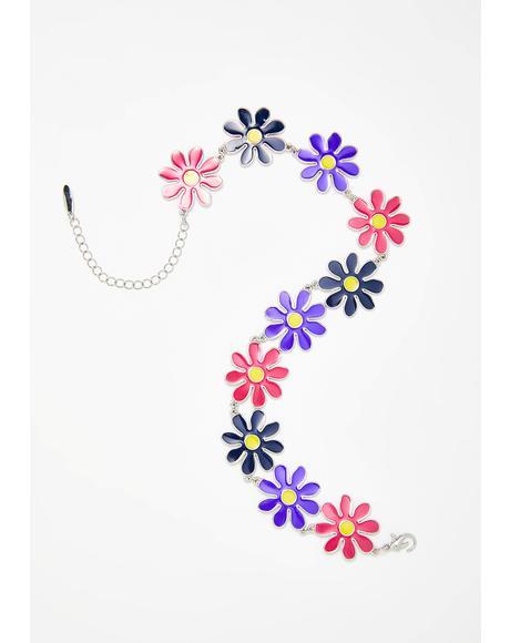 Daisy Tripp Flower Choker