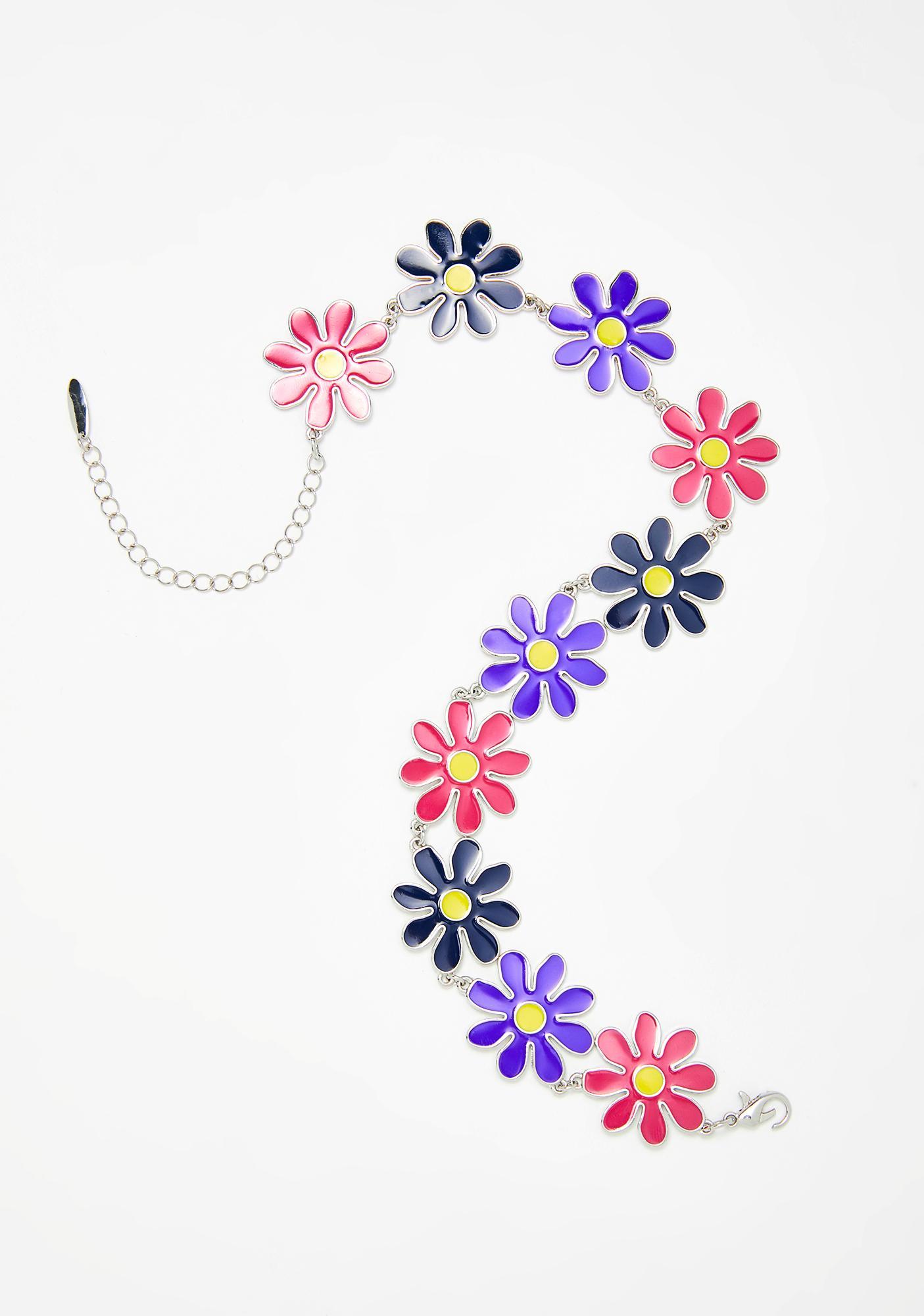 dELiA*s by Dolls Kill Daisy Tripp Flower Choker