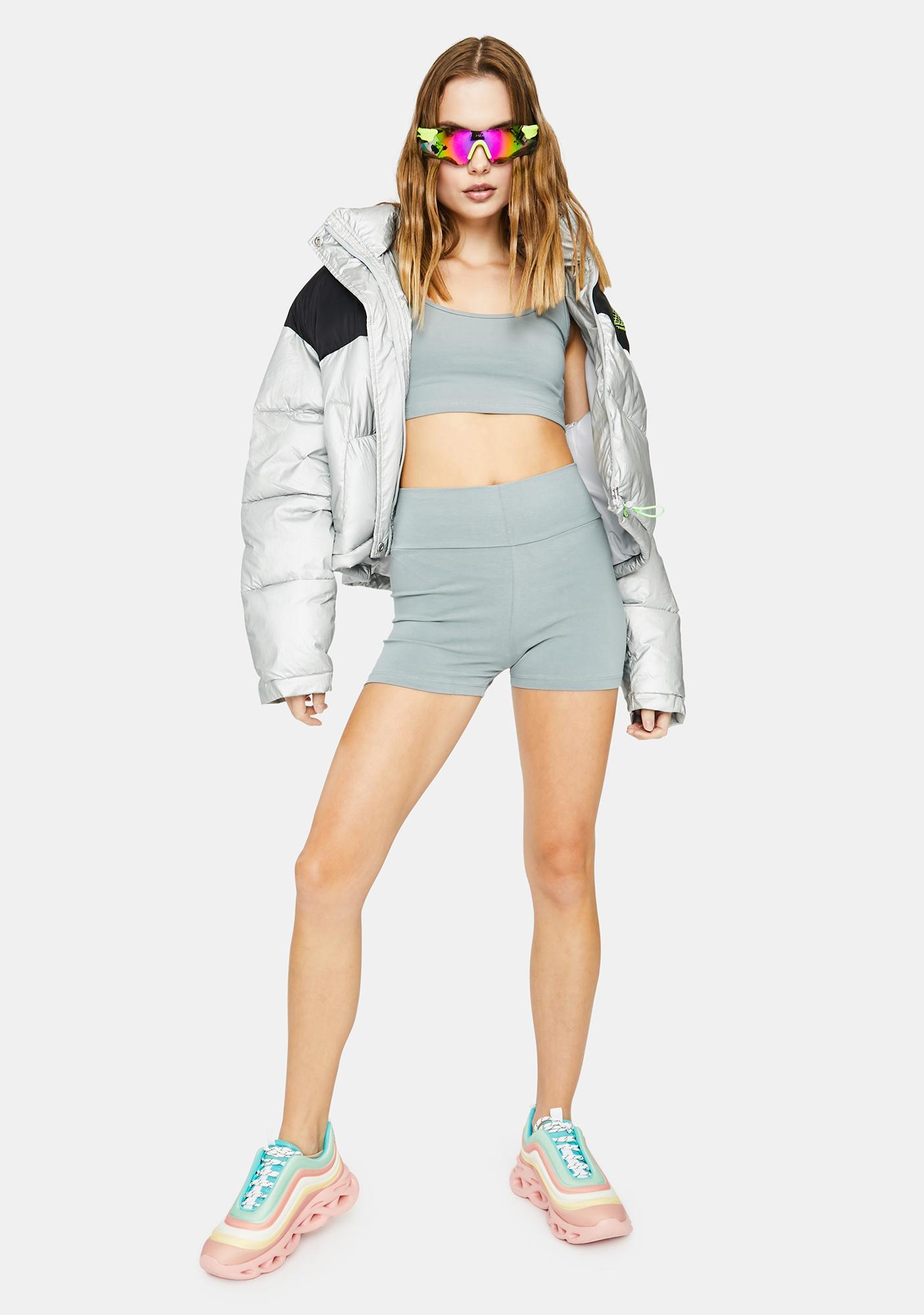 Kiki Riki Steel Lounge Booty Shorts