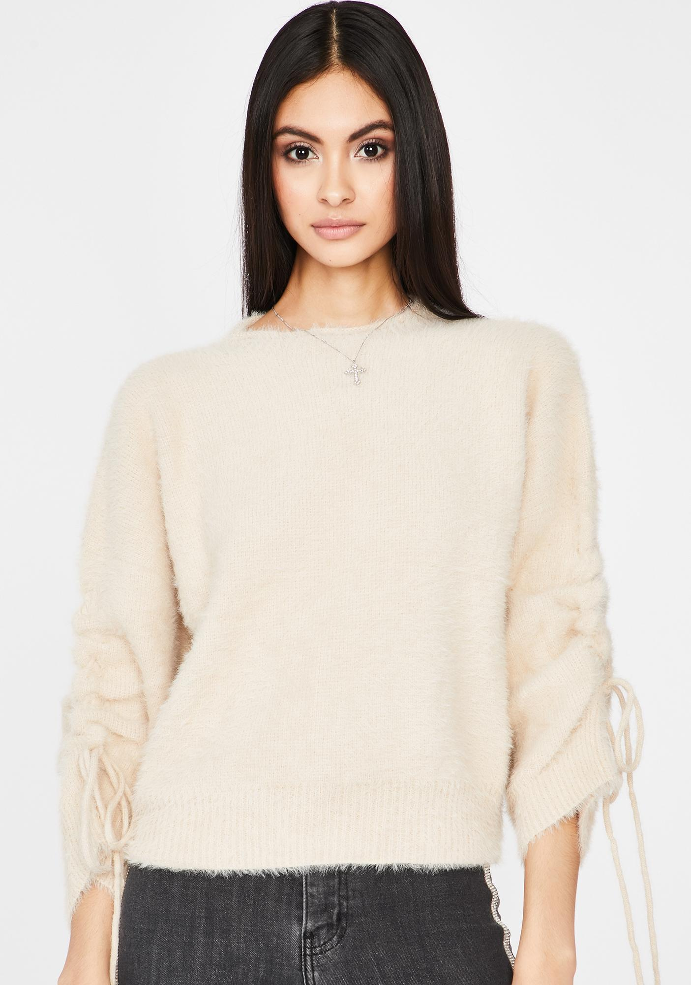 Icy Dream Doll Knit Sweater