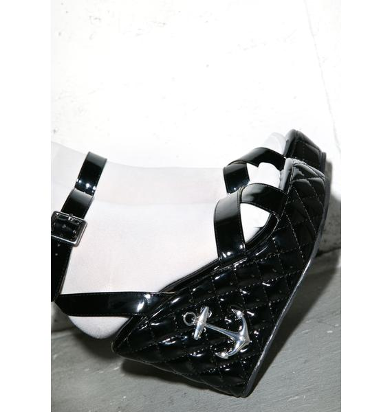 T.U.K. Anchor Sandal Wedge