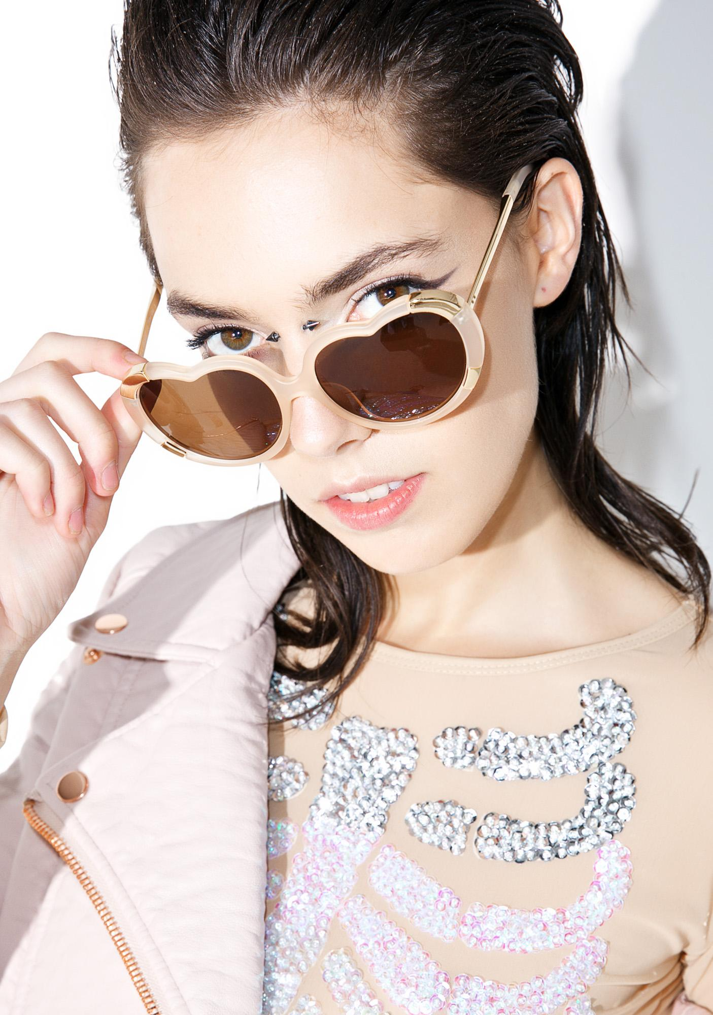 Heart Stomper Sunglasses