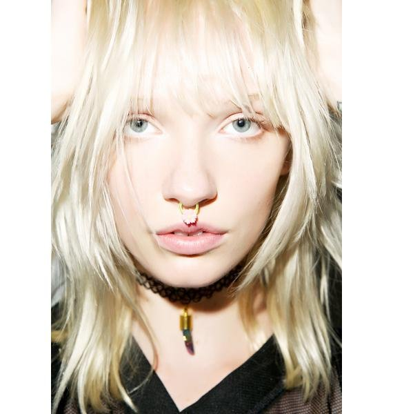 Flower Power Septum Clip