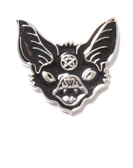 Night Creature Emamel Pin