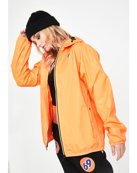 Orange Le Vrai Claude 3.0 Windbreaker Jacket