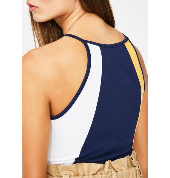 Make It Breezy Colorblock Bodysuit