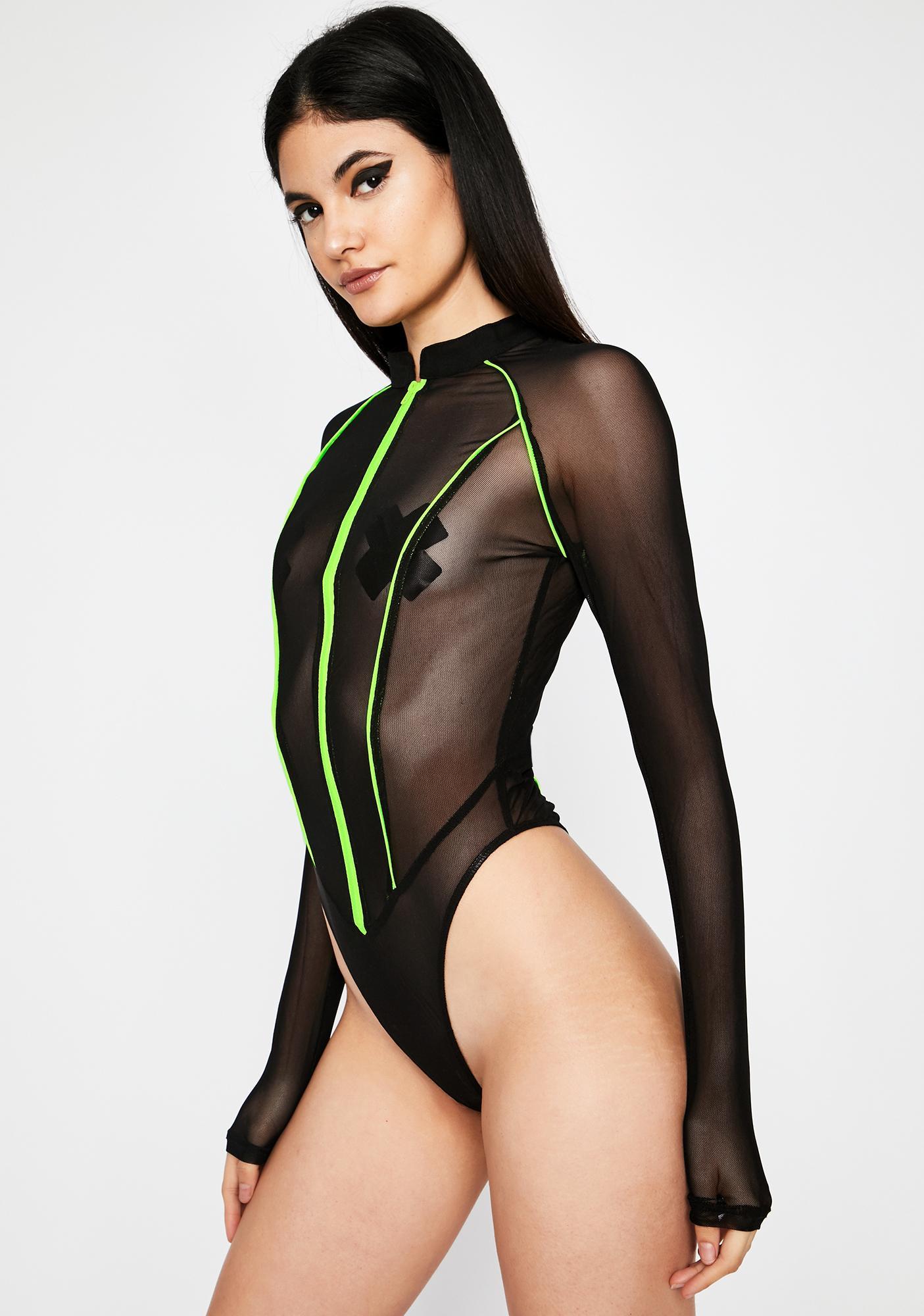 Nox Rave Patrol Sheer Bodysuit