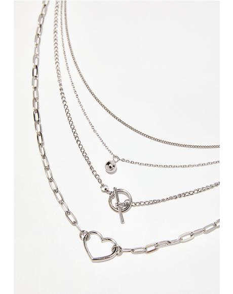 Love Struck Layered Necklace
