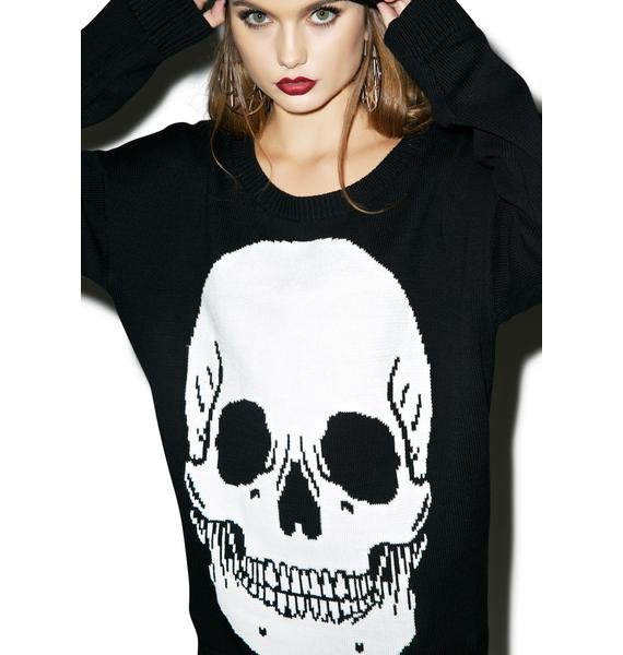 Iron Fist Skulls Club Sweater