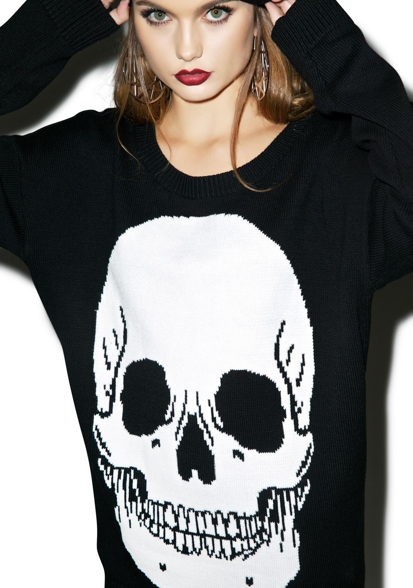 Iron Fist Skulls Club Sweater