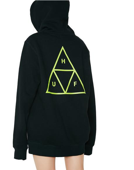 Triple Triangle Pullover Hood