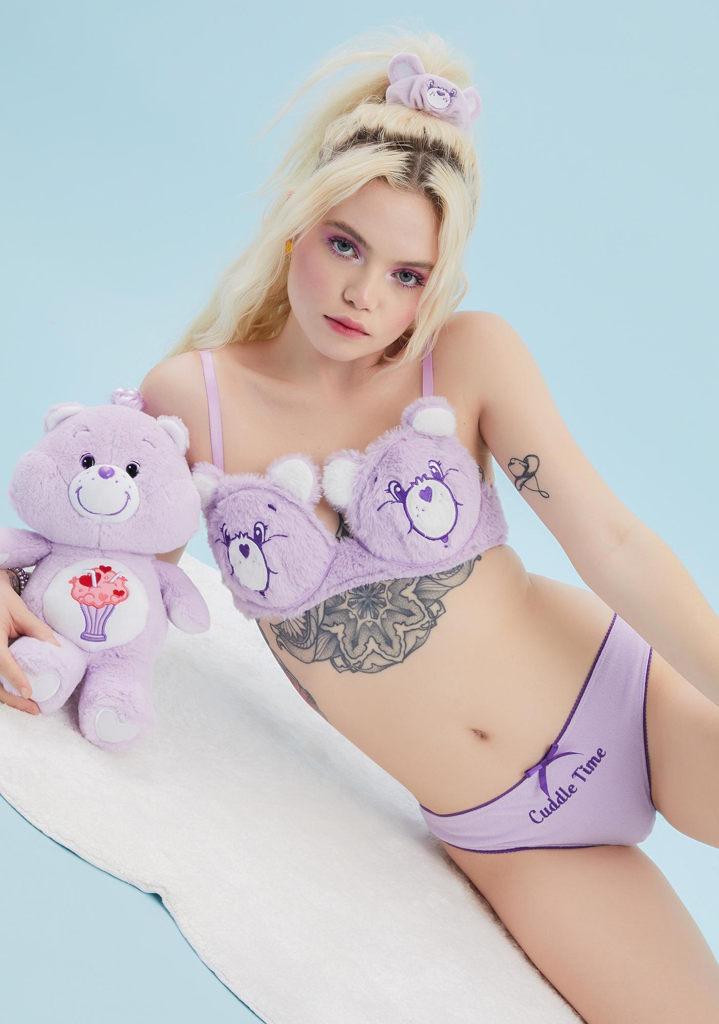 Dolls Kill x Care Bears Hold Me Close Lingerie Set