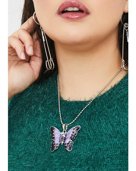 Magic Mariposa Chain Necklace