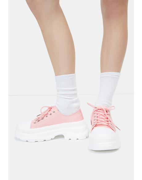 Pink Public Admirer Sneakers