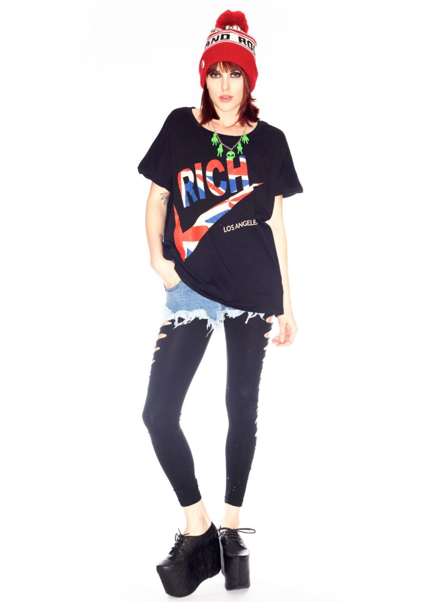 Joyrich Rich Swoosh In UK Box Big Tee
