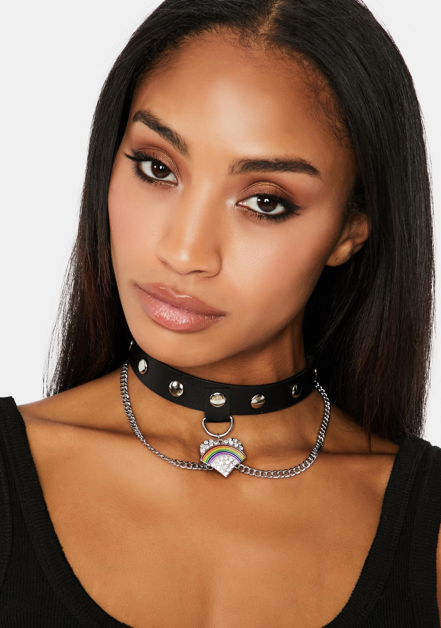 Chained To Your Love Choker
