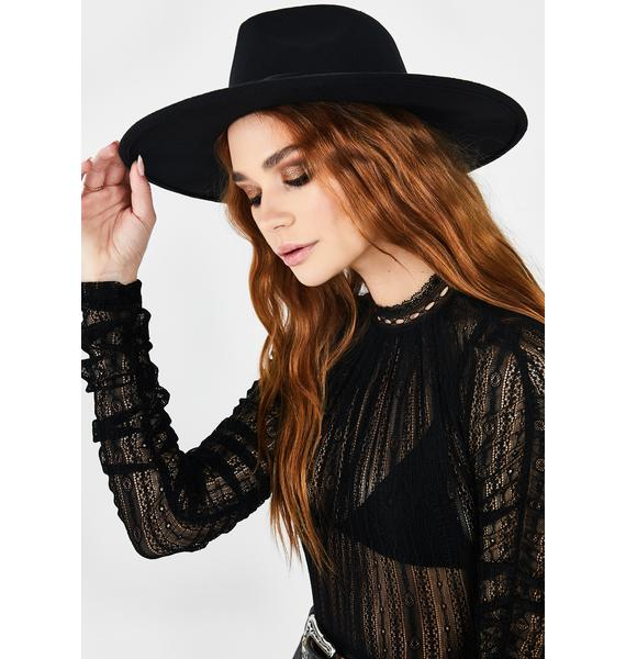 Rebel Reputation Wide Brim Hat