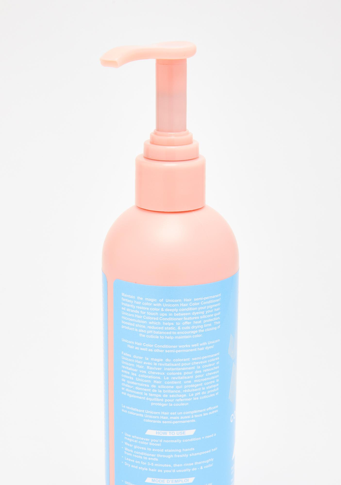 Lime Crime Aqua Unicorn Hair Color Conditioner