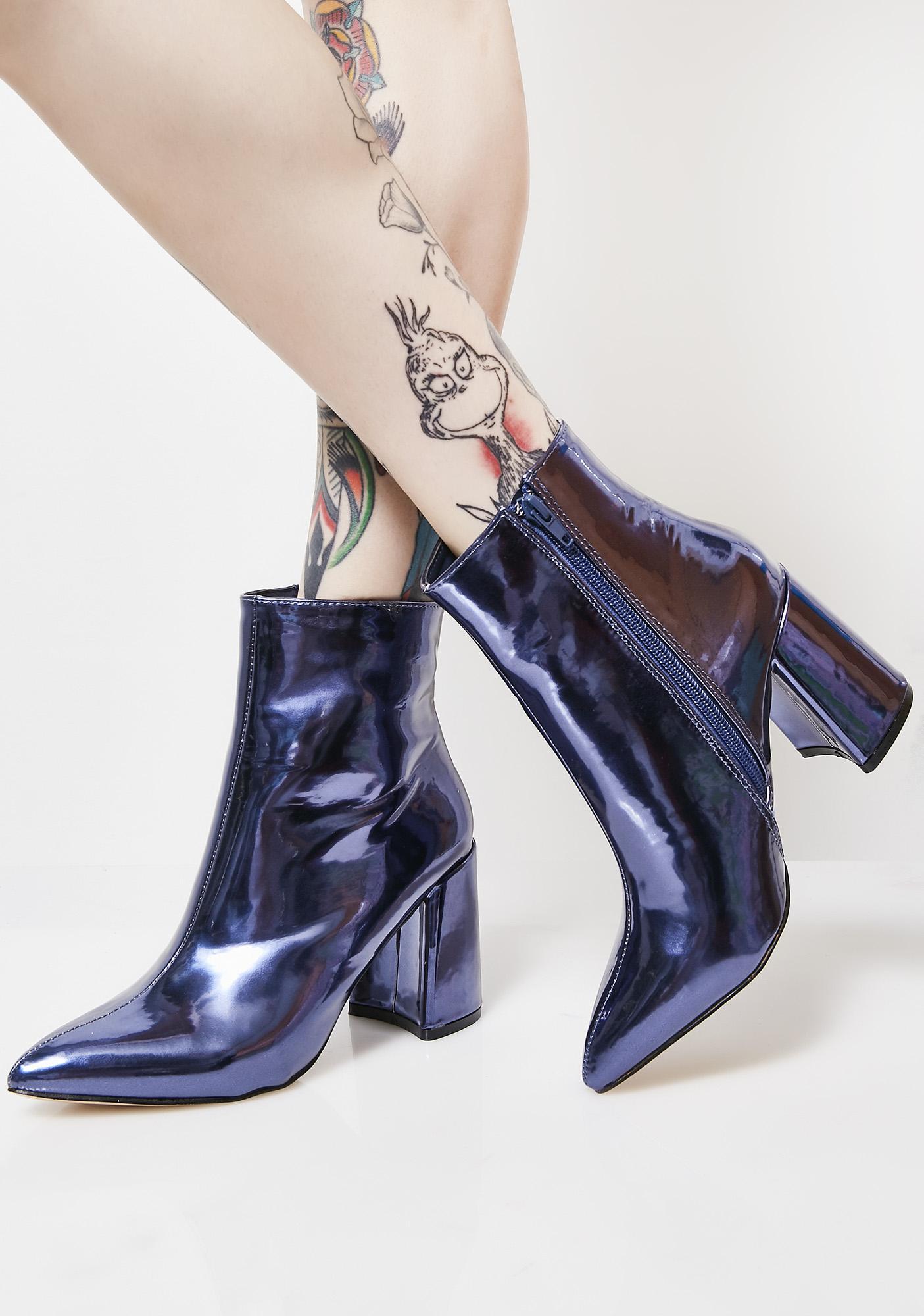 Public Desire Alpha Ankle Boots