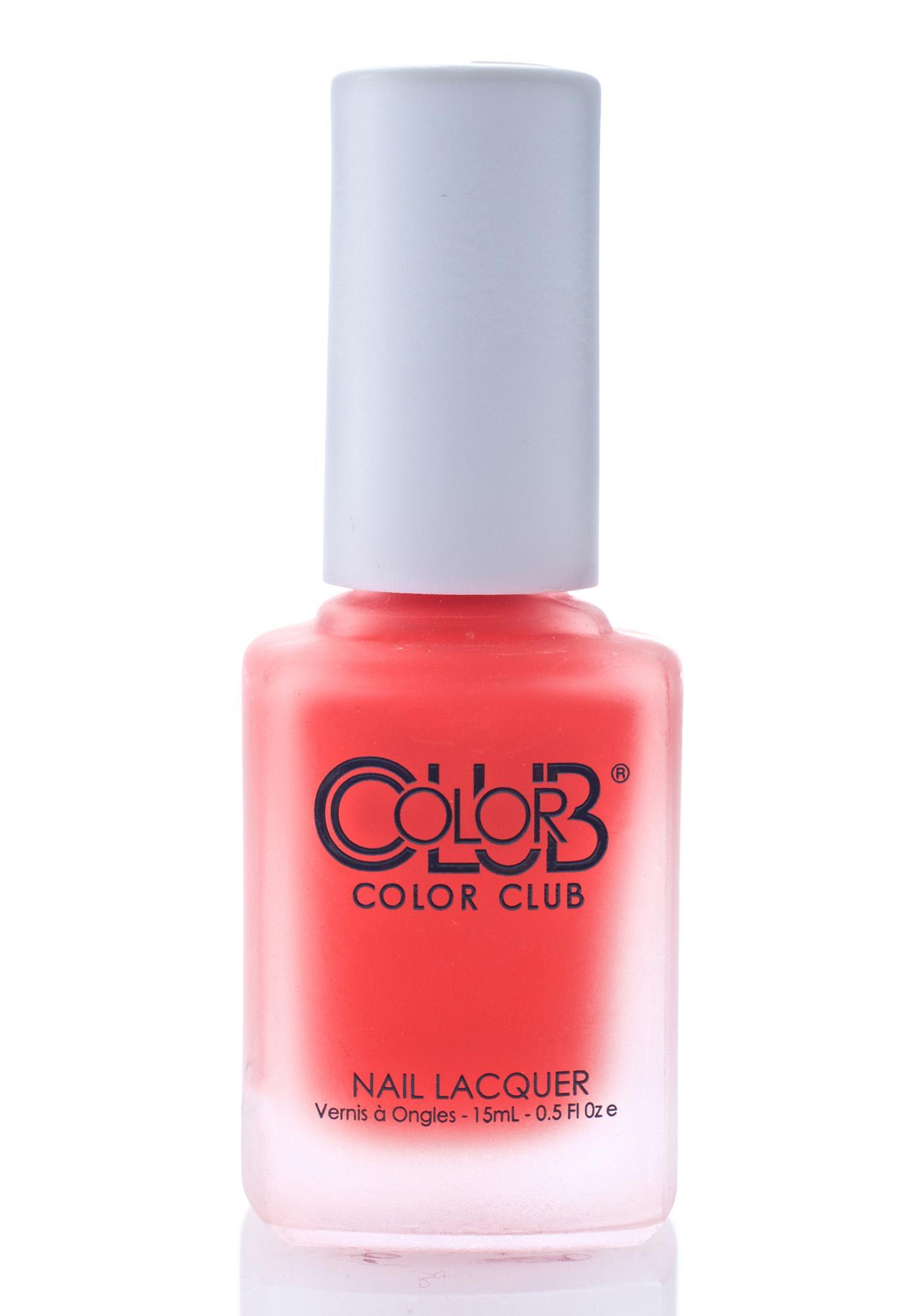 Color Club Perfect Pout Matte Rouge Nail Polish