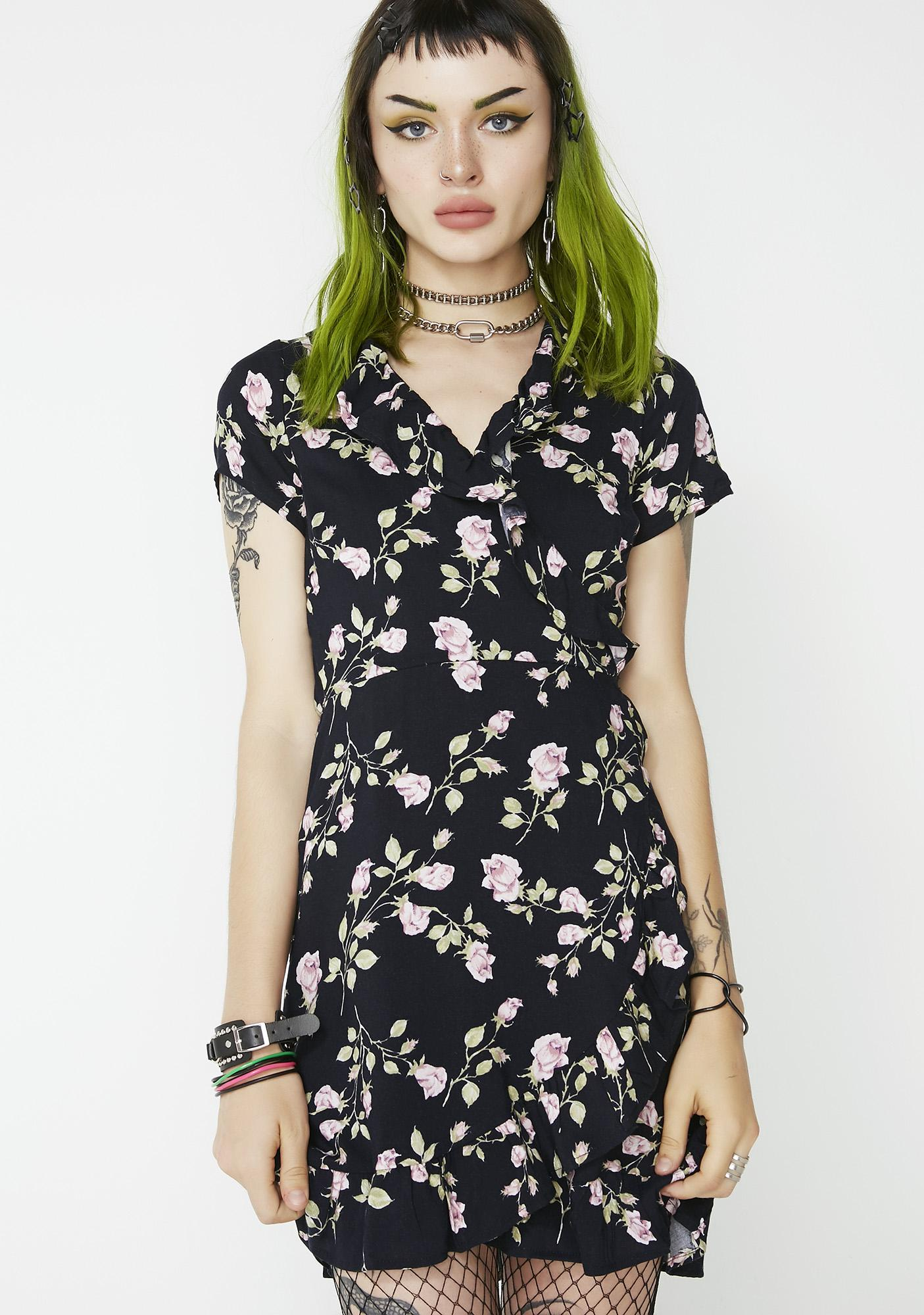 For Keeps Floral Dress by Wild Honey